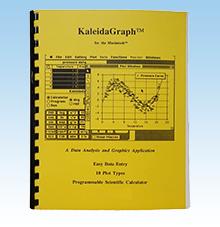 KaleidaGraph version 2.0 packaging