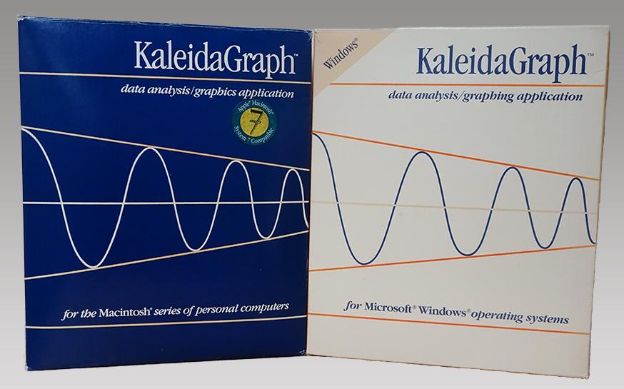 KaleidaGraph version 3.0 packaging
