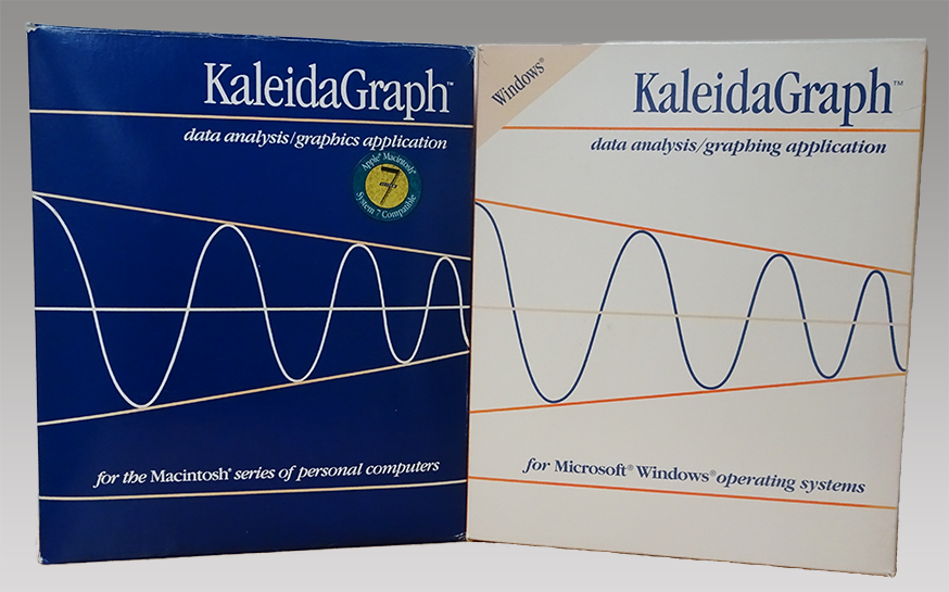 KaleidaGraph version 3.0 packaging