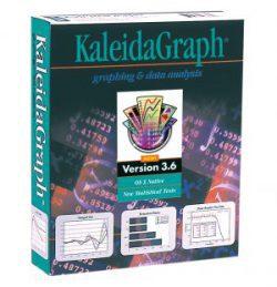 KaleidaGraph version 3.6 packaging