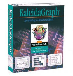 KaleidaGraph version 3.6 packaging