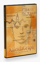 KaleidaGraph version 4.5 packaging
