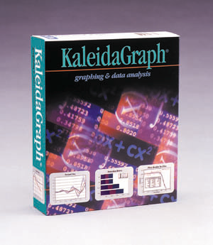 KaleidaGraph version 3.5 packaging